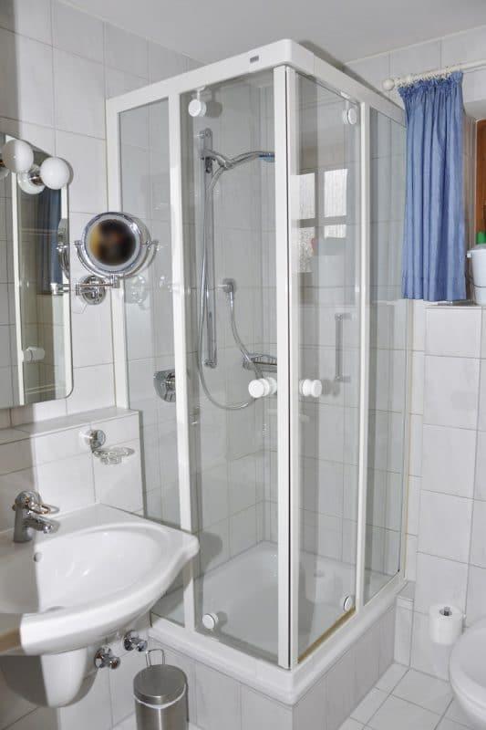 Badezimmer Ferienwohnung Igel Lodge | Landhaus Barbara