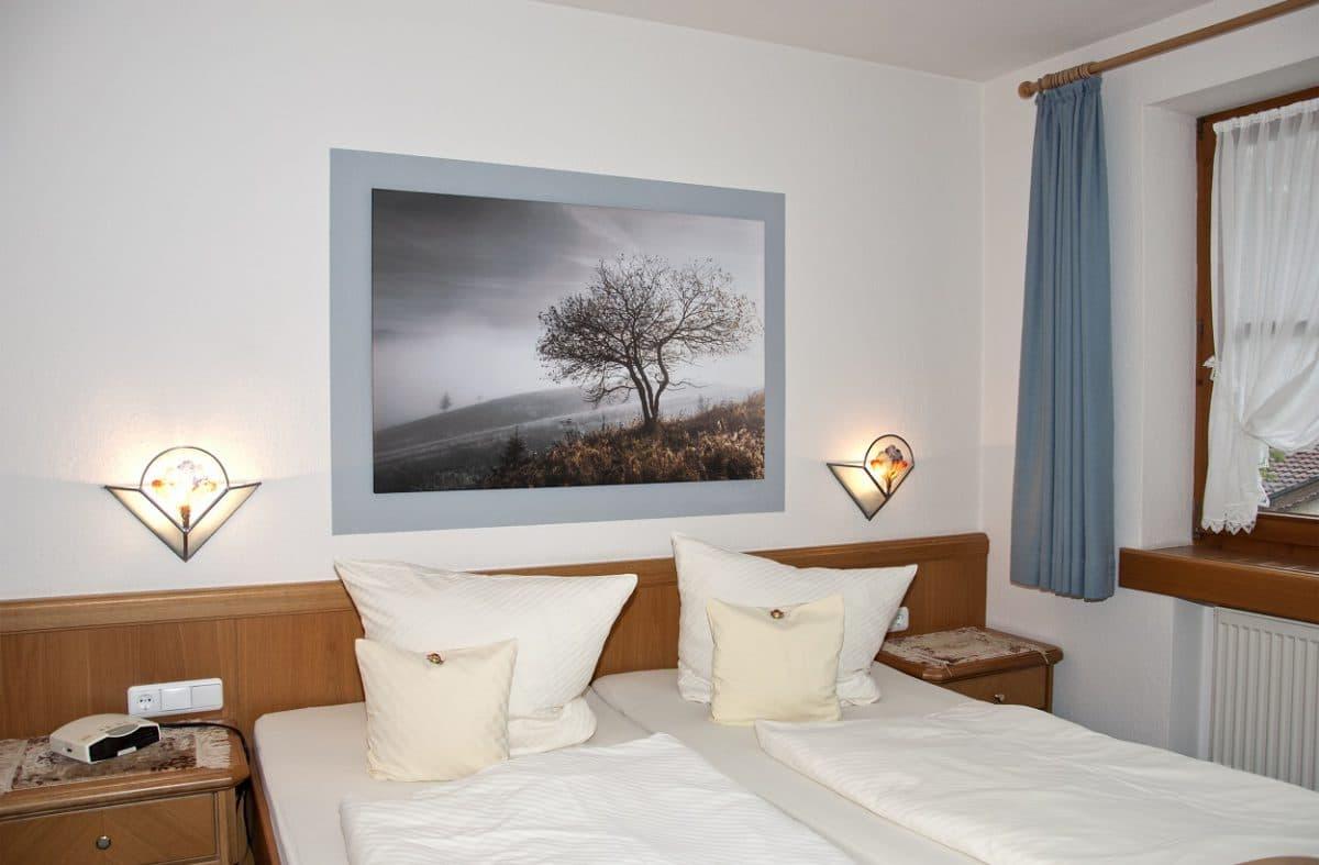 Schlafzimmer Ferienwohnung Kuhweide| Landhaus Barbara